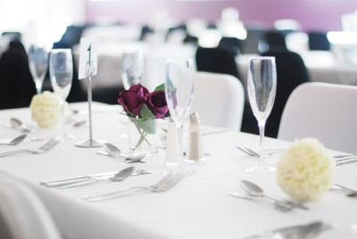 Wedding Table in the Country Park Inn Function Hall